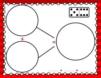 Math Center: Addition Domino Number Bonds