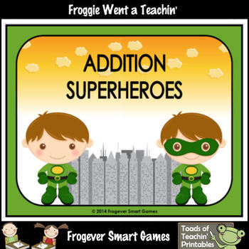 Addition--Superheroes