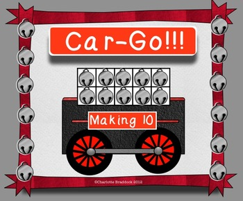 Math Center Addition to 10 with Car-Go!