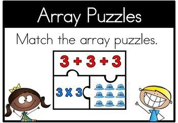 Math Center Arrays