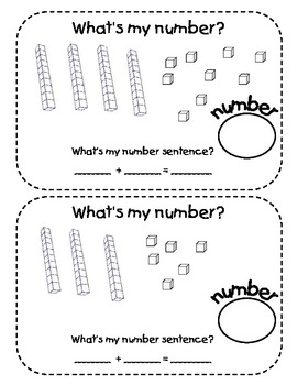 Math Center:  Base Ten Addition