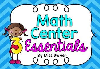 Math Center Essentials / Numbers 1-10