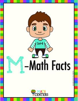 Math Center Binder & Folder