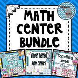 Math Center Bundle