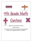 Math Center Bundle Packet Test Prep