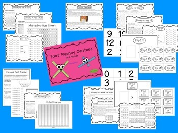 3rd Grade Math Centers Bundle!