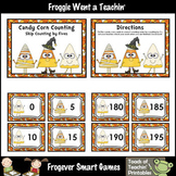 "Skip Counting--""Candy Corn Counting"" Skip Counting by Fives"
