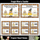 "Skip Counting--""Candy Corn Counting"" Skip Counting by Tens"