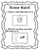 Math Center - Coin Value Matching Center and Game