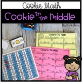 Math Center: Cookie In The Middle (Adding and Subtracting 10)