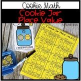 Math Center: Cookie Jar Place Value (Identifying tens and ones)