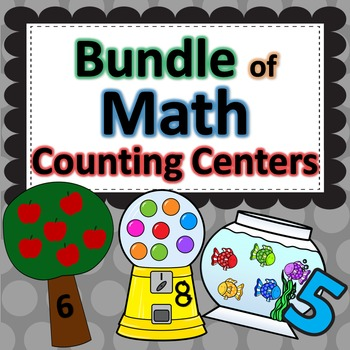 Math Center Counting Games - BUNDLED