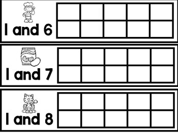Math Center - Decomposing numbers to 10