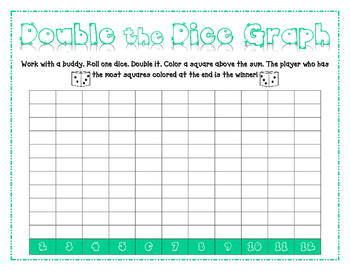 Math Center Dice Game {Doubles}