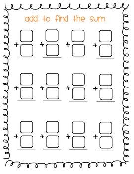 Math Center: Dice Work