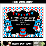 Read Across America--Doin' The Birthday Bump (Three Addends Addition Game)