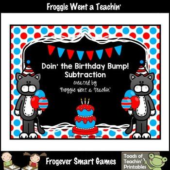Read Across America--Doin' the Birthday Bump! (Subtraction Game)