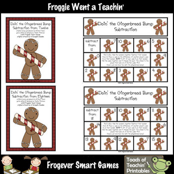 Subtraction--Doin' the Gingerbread Bump