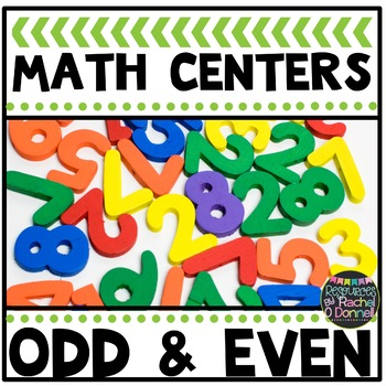 Math Center Odd and Even