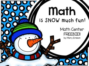 Math Center FREEBIE! (Base Ten)
