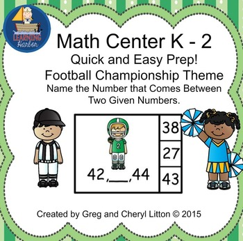 Math Center Find The Number That Comes Between Two Given Numbers