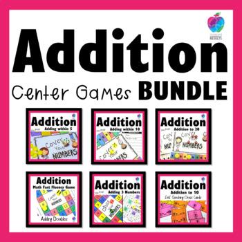 Math Center - Fluency Games Bundle - No Prep