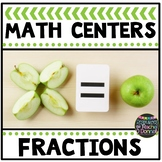 Math Center Fractions