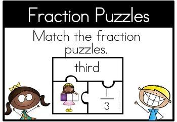 Math Center Fractions