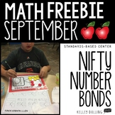 Math Center Freebie (September - 1st Grade)