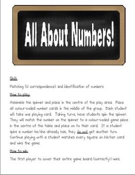 Math Center Fun