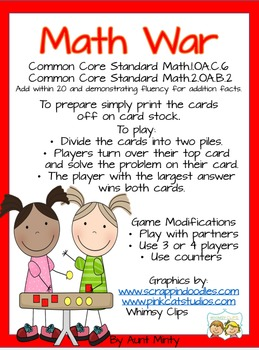Math Center Game Bundle: Addition, Subtraction, Multiplication, Division