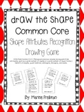 Math Center Game: Draw the Shape (Sample of Common Core Math Centers)