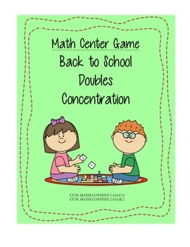 Math Center Game: Finding Doubles