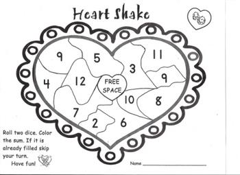 Math Center Game set for Pre K, Kindergarten, First Grade