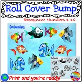 Math Games NUMBERS 1-10 RECOGNITION Roll Cover Bump Fun