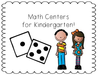 Math Center Games: Numbers 0-10