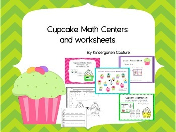 Math Center Games - and worksheets