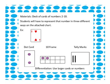 Math Center Games for Common Core