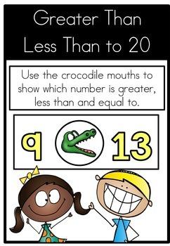 Math Center Greater Than Less Than