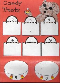 Math Center (Halloween theme)