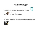 Math Center Instructions for ELL Students