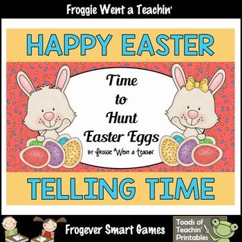 "Easter--Telling Time ""Time to Hunt Easter Eggs"""