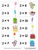 Math Center - It's a Party - Addition, Subtraction, Multip