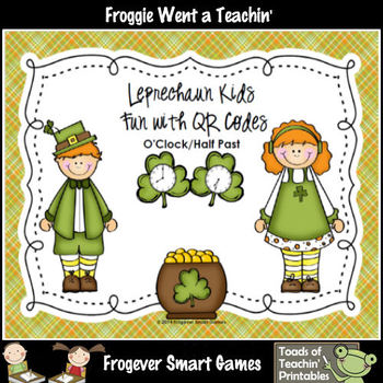 St.Patrick's Day--Leprechaun Kids Fun with QR Codes (OCloc