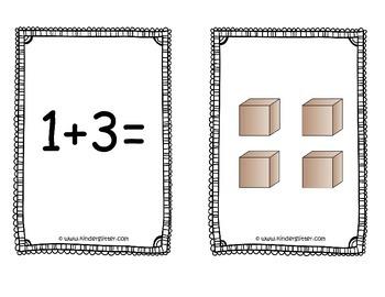 Math Center Magic - Base 10 Addition Game!