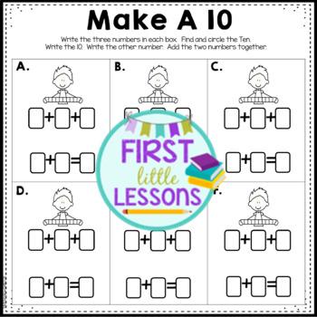 Math Center: Make A Ten