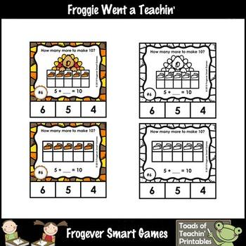 Making Ten--Ten Frames (Thanksgiving Theme)