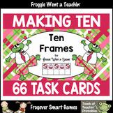 """Making Ten (Ten Frames) -- """"Valentine's Day"""""""