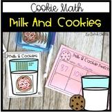Math Center: Milk & Cookies (Matching Tens & Ones)