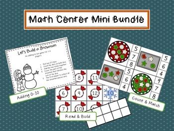Math Center Mini Bundle